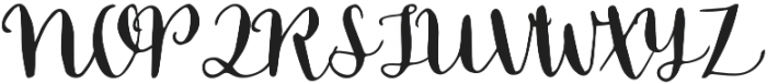 Blossom Left otf (400) Font UPPERCASE