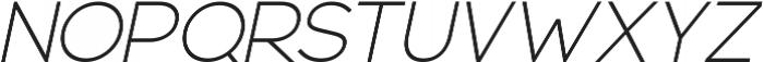 Blossom ttf (300) Font UPPERCASE