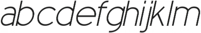 Blossom ttf (300) Font LOWERCASE