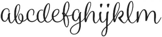 Blossoms Light otf (300) Font LOWERCASE