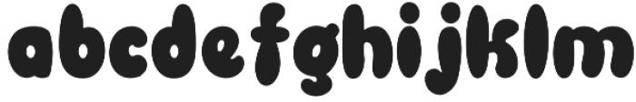 Blowfish otf (400) Font LOWERCASE