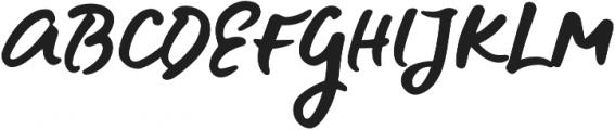 Blue Fires otf (400) Font UPPERCASE