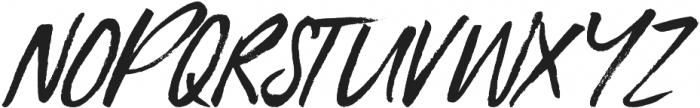 Blue Liquid Italic otf (400) Font UPPERCASE