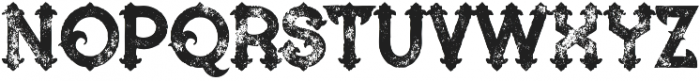 Blue North Grunge otf (400) Font LOWERCASE
