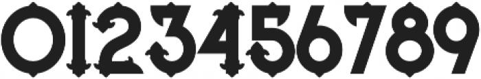 Blue North regular otf (400) Font OTHER CHARS