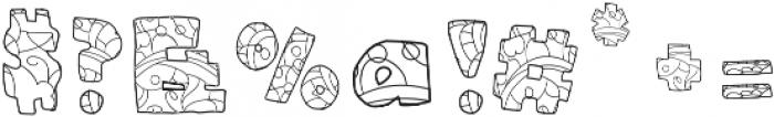 BlueBubblegumOrnate otf (400) Font OTHER CHARS