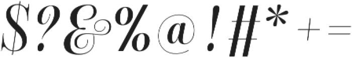 Bluebell Medium otf (500) Font OTHER CHARS
