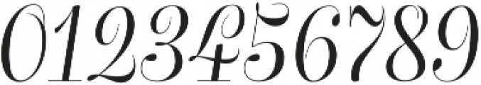 Bluebell otf (400) Font OTHER CHARS