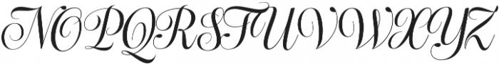 Bluebell otf (400) Font UPPERCASE