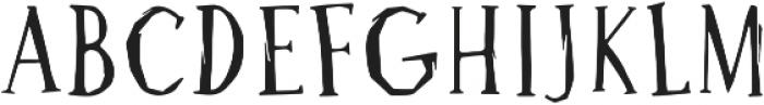 Bluebird Engraver ttf (400) Font LOWERCASE