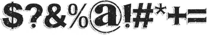 Bluegrass ORIGINAL otf (400) Font OTHER CHARS