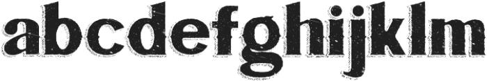 Bluegrass ORIGINAL otf (400) Font LOWERCASE