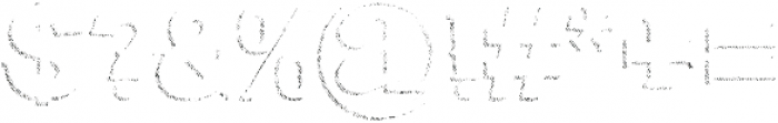 Bluegrass SHADDOW otf (400) Font OTHER CHARS
