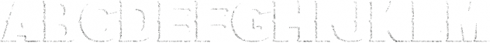 Bluegrass SHADDOW otf (400) Font UPPERCASE