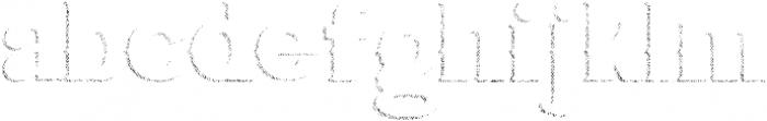 Bluegrass SHADDOW otf (400) Font LOWERCASE