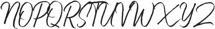 Bluehill otf (400) Font UPPERCASE
