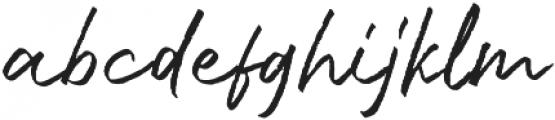 Bluehill otf (400) Font LOWERCASE