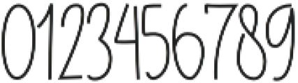 Bluelight otf (300) Font OTHER CHARS