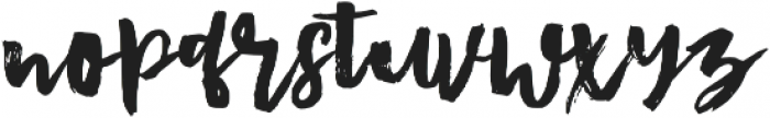 Bluesky Regular otf (400) Font LOWERCASE