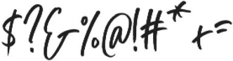 Blush Away Regular ttf (400) Font OTHER CHARS