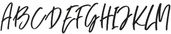 Blush Away Regular ttf (400) Font UPPERCASE