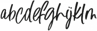 Blush Away Regular ttf (400) Font LOWERCASE