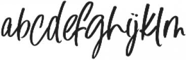 Blush Away ttf (400) Font LOWERCASE