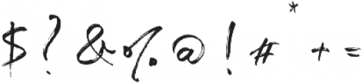Blush Collective Upright Alt otf (400) Font OTHER CHARS