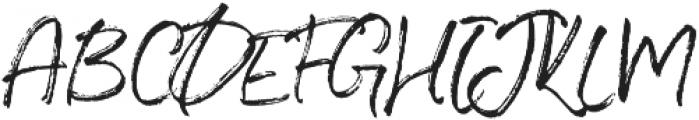Blush Collective Upright Alt otf (400) Font UPPERCASE