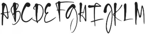 Blush Pink Script otf (400) Font UPPERCASE