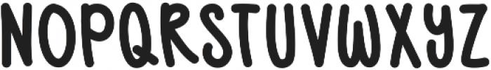 BlushBerrySans ttf (400) Font UPPERCASE