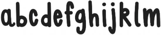 BlushBerrySans ttf (400) Font LOWERCASE