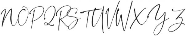 BlushSociety Script otf (400) Font UPPERCASE