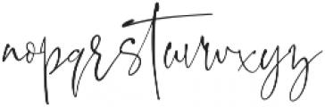 BlushSociety Script otf (400) Font LOWERCASE