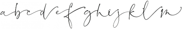 BlushSocietySwashes Script otf (400) Font LOWERCASE