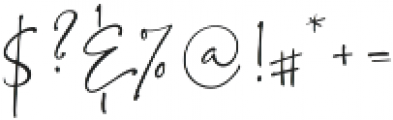 BlushSocietySwashes Script ttf (400) Font OTHER CHARS
