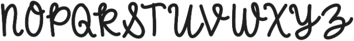 BlushberryScript ttf (400) Font UPPERCASE