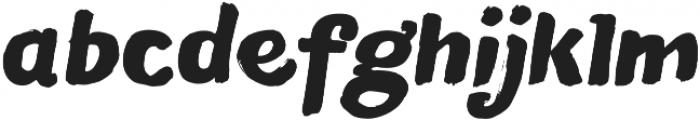 Blushes Black Italic otf (900) Font LOWERCASE