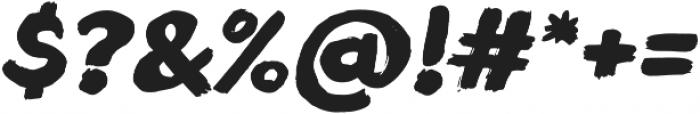 Blushes Black Italic ttf (900) Font OTHER CHARS