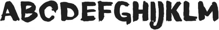 Blushes Black otf (900) Font UPPERCASE