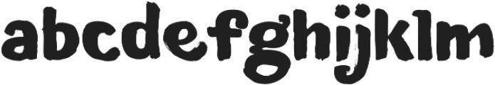 Blushes Black otf (900) Font LOWERCASE
