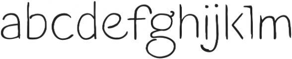 Blushes Light otf (300) Font LOWERCASE