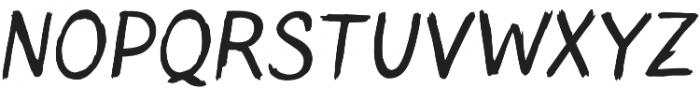 Blushes otf (400) Font UPPERCASE