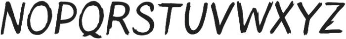 Blushes ttf (400) Font UPPERCASE