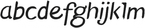 Blushes ttf (400) Font LOWERCASE
