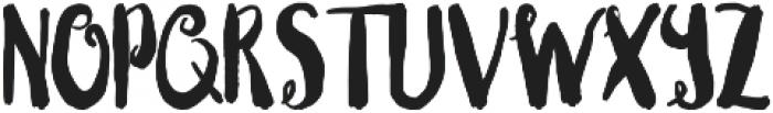 Blushingly (swirls) otf (400) Font UPPERCASE