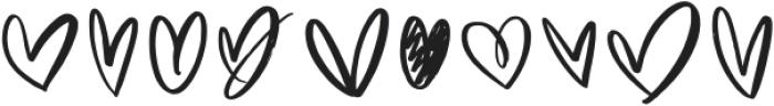Blushon Swash Regular otf (400) Font OTHER CHARS