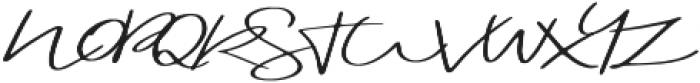Blushy otf (400) Font UPPERCASE