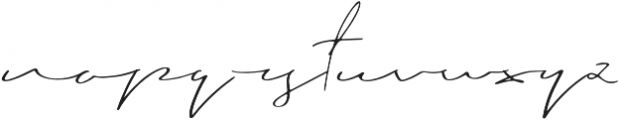 Blushy otf (400) Font LOWERCASE