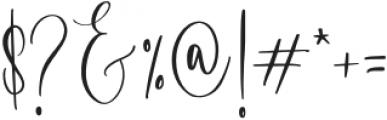 Blushyland-Regular otf (400) Font OTHER CHARS